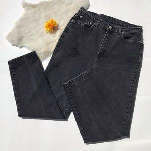 Ralph Lauren High Rise Vintage Mom Jeans Black 30
